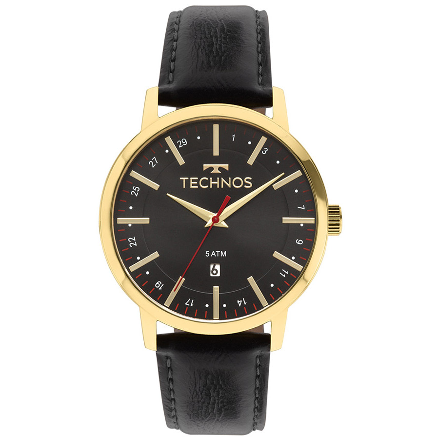 5a9a4b72fa1 Relógio Technos Masculino Classic Steel 2115MMI 4P