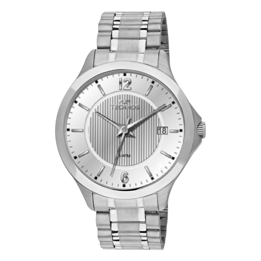 Relógio Technos Prateado Masculino Classic Steel 1S13CA 1K - Technos -  Marcas f1b18d7b2d