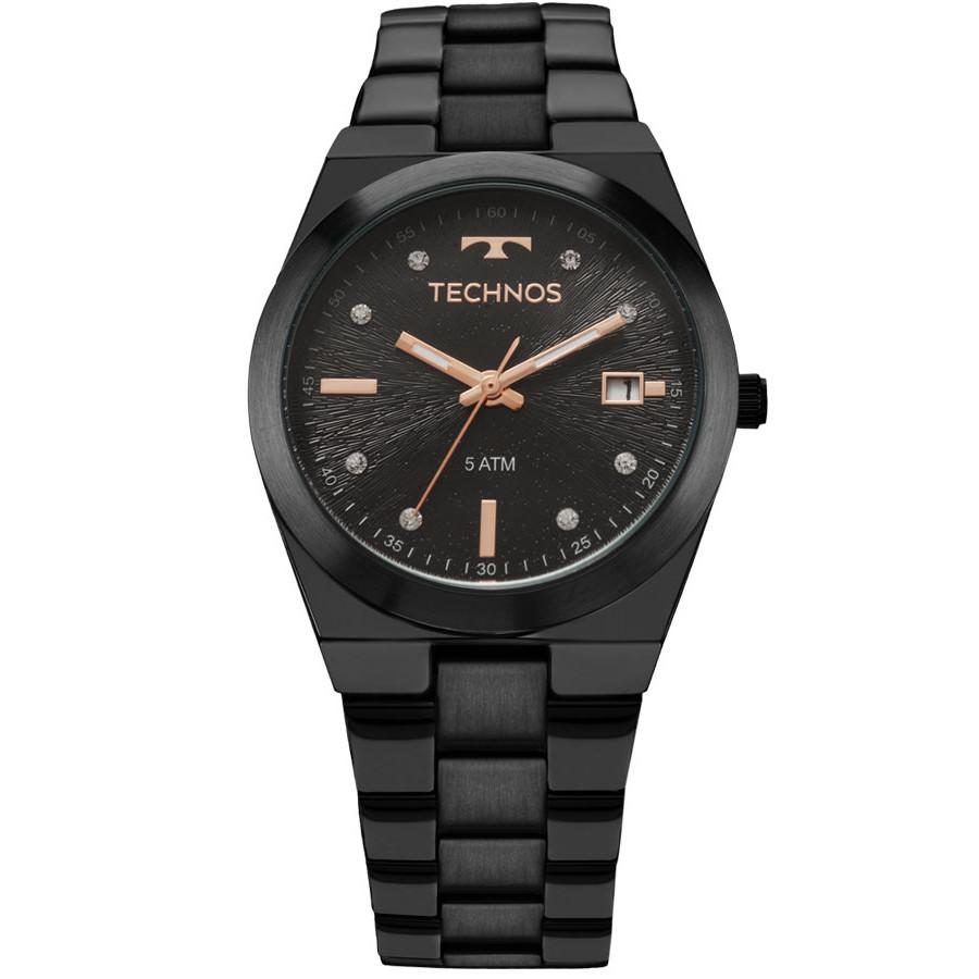 01d7912d5de Relógio Technos Preto Feminino Fashion Trend 2115KZS 5P - Marcas