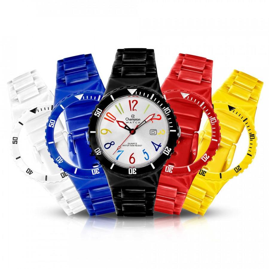 df2f0463fdd Relógio Champion Troca Pulseiras Infantil Analógico CP30119M