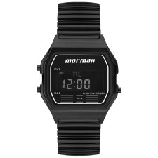 95ef155040995 Relógio Mormaii Digital Vintage Preto MOJH02AW 4P