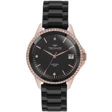 Relógio Technos Rosé e Preto Feminino Ceramic 2315KZR 4P 133283b874