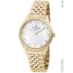 a1ed4e15e6d Relógio Champion Feminino Dourado Analógico CN25789H